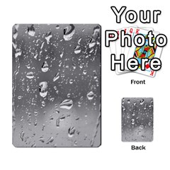 Water Drops 4 Multi Purpose Cards (rectangle)  by trendistuff