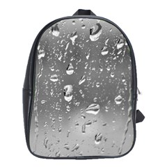 Water Drops 4 School Bags(large)  by trendistuff