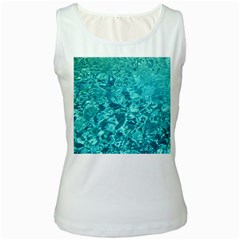 Turquoise Water Women s Tank Tops by trendistuff