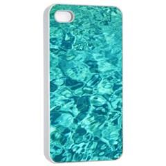 Turquoise Water Apple Iphone 4/4s Seamless Case (white)