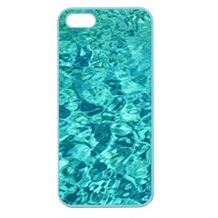 Turquoise Water Apple Seamless Iphone 5 Case (color) by trendistuff