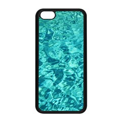 Turquoise Water Apple Iphone 5c Seamless Case (black)