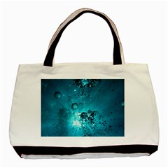 Sun Bubbles Basic Tote Bag  by trendistuff