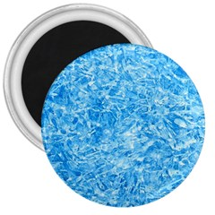 Blue Ice Crystals 3  Magnets by trendistuff