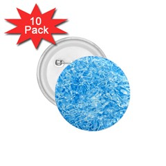 Blue Ice Crystals 1 75  Buttons (10 Pack) by trendistuff