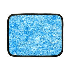 Blue Ice Crystals Netbook Case (small)  by trendistuff