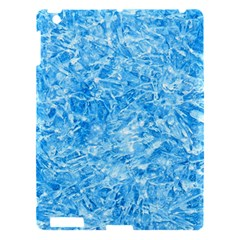 Blue Ice Crystals Apple Ipad 3/4 Hardshell Case by trendistuff