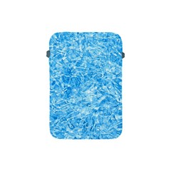 Blue Ice Crystals Apple Ipad Mini Protective Soft Cases by trendistuff