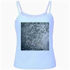 Weathered Grey Stone Baby Blue Spaghetti Tanks by trendistuff