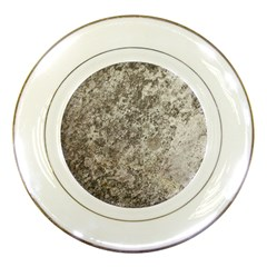 Weathered Grey Stone Porcelain Plates by trendistuff