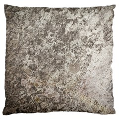 Weathered Grey Stone Standard Flano Cushion Cases (one Side)  by trendistuff