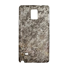 Weathered Grey Stone Samsung Galaxy Note 4 Hardshell Case by trendistuff