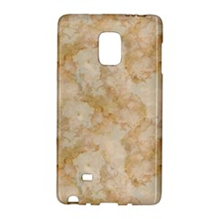 Tan Marble Galaxy Note Edge by trendistuff