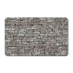 Stone Wall Grey Magnet (rectangular) by trendistuff