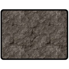 Stone Fleece Blanket (large)  by trendistuff