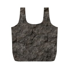 Stone Full Print Recycle Bags (m)  by trendistuff