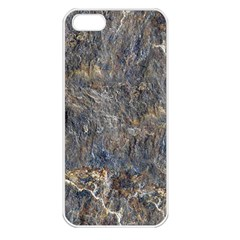 Rusty Stone Apple Iphone 5 Seamless Case (white) by trendistuff