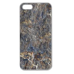 Rusty Stone Apple Seamless Iphone 5 Case (clear) by trendistuff