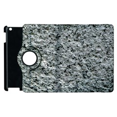 Rough Grey Stone Apple Ipad 2 Flip 360 Case by trendistuff