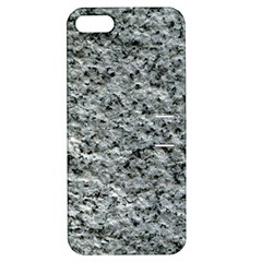 Rough Grey Stone Apple Iphone 5 Hardshell Case With Stand by trendistuff