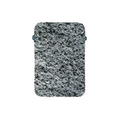Rough Grey Stone Apple Ipad Mini Protective Soft Cases by trendistuff