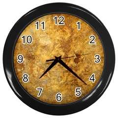 Rosia Montana Wall Clocks (black) by trendistuff