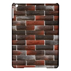 Red And Black Brick Wall Ipad Air Hardshell Cases by trendistuff