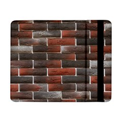 Red And Black Brick Wall Samsung Galaxy Tab Pro 8 4  Flip Case by trendistuff
