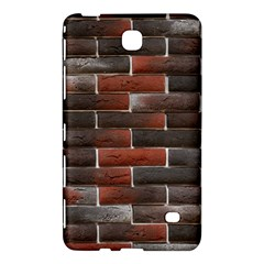 Red And Black Brick Wall Samsung Galaxy Tab 4 (8 ) Hardshell Case  by trendistuff