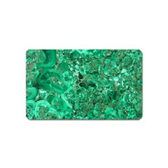 Marble Green Magnet (name Card) by trendistuff