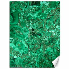 Marble Green Canvas 36  X 48   by trendistuff