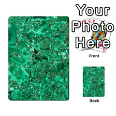 Marble Green Multi Purpose Cards (rectangle)
