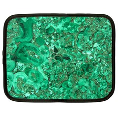 Marble Green Netbook Case (large) by trendistuff
