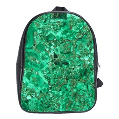 Marble Green School Bags (xl)  by trendistuff