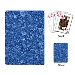 Marble Blue Playing Card by trendistuff