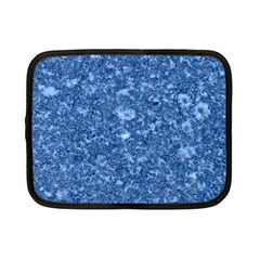 Marble Blue Netbook Case (small)  by trendistuff