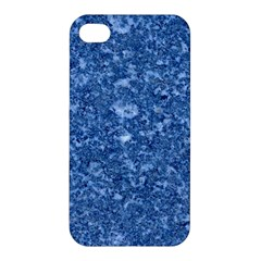 Marble Blue Apple Iphone 4/4s Premium Hardshell Case by trendistuff