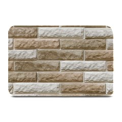 Light Brick Wall Plate Mats by trendistuff