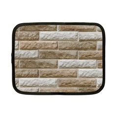 Light Brick Wall Netbook Case (small)  by trendistuff