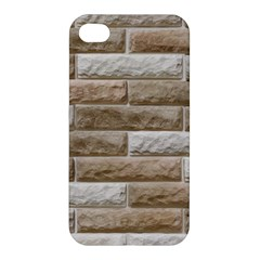 Light Brick Wall Apple Iphone 4/4s Hardshell Case by trendistuff