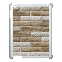 Light Brick Wall Apple Ipad 3/4 Case (white) by trendistuff