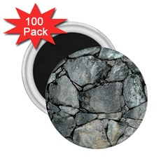 Grey Stone Pile 2 25  Magnets (100 Pack)  by trendistuff