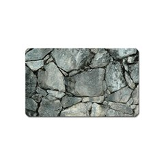 Grey Stone Pile Magnet (name Card) by trendistuff