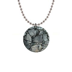 Grey Stone Pile Button Necklaces by trendistuff
