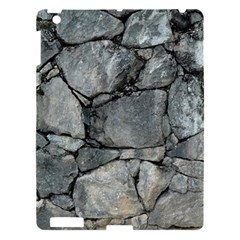 Grey Stone Pile Apple Ipad 3/4 Hardshell Case