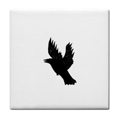 Crow Face Towel by JDDesigns