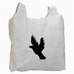 Crow Recycle Bag (one Side) by JDDesigns
