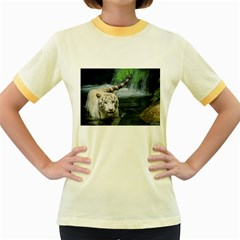Whitetiger Women s Fitted Ringer T Shirts