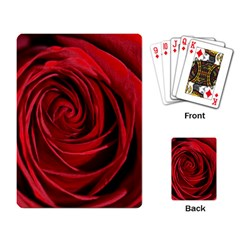 Beautifully Red Playing Card by timelessartoncanvas