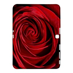 Beautifully Red Samsung Galaxy Tab 4 (10 1 ) Hardshell Case  by timelessartoncanvas